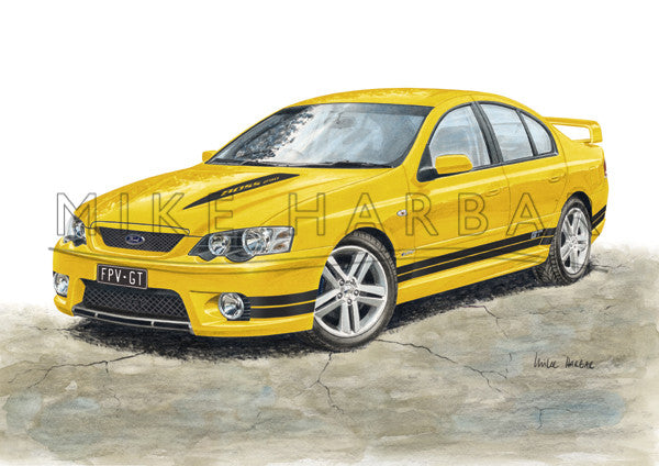 Ford Falcon FPV BA  GT and Ute