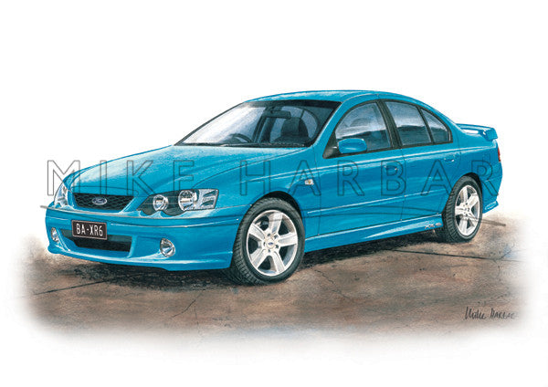 Ford Falcon BA XR6 & XR8 and Utes