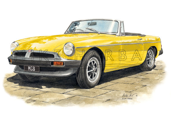 MGB Roadster Rubbers