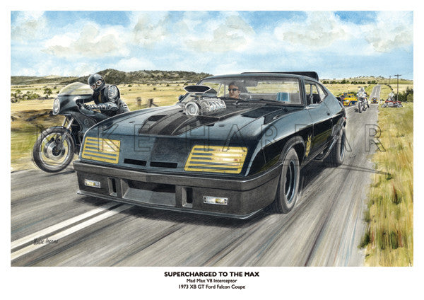 Ford Falcon XB Mad Max 1 - Supercharged To The Max