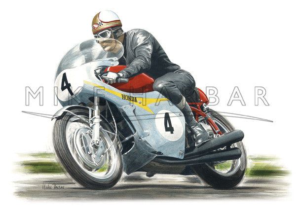 Honda 1967 RC174 Mike Hailwood
