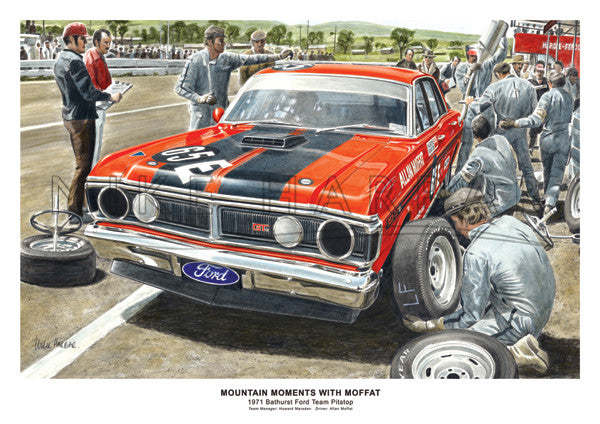 Bathurst 1971 Ford Falcon XY GT - Pitstop