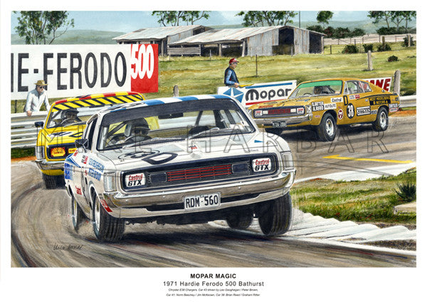 Bathurst 1971 Chrylser - Mopar Magic