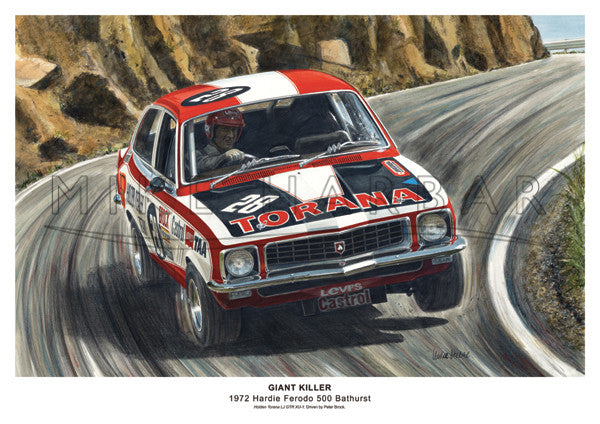 Bathurst 1972 Holden - Giant Killer