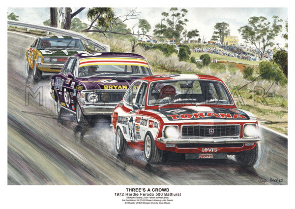 Bathurst 1972 - Three's A Crowd