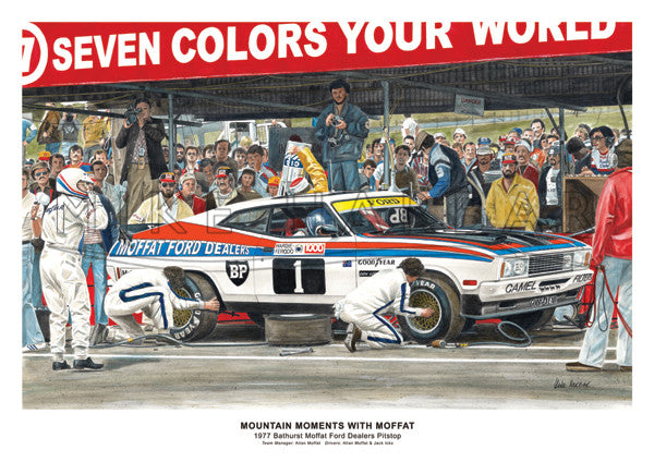 Bathurst 1977 Ford - Pitstop