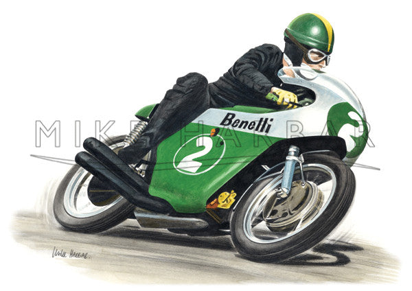 Benelli 1969 Kel Carruthers