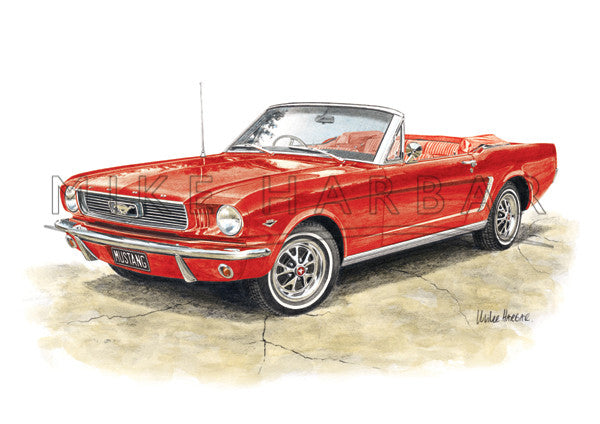 Ford Mustang 1964 66 Convertable