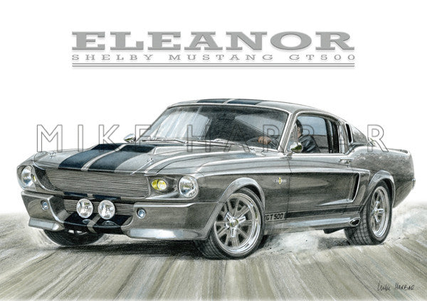 Ford Mustang 1964 GT 500 Eleanor