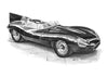 Jaguar D Type Long Nose