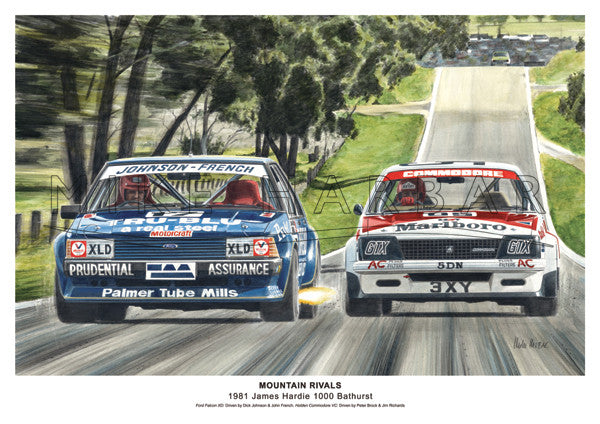 Bathurst 1981 - Mountain Rivals