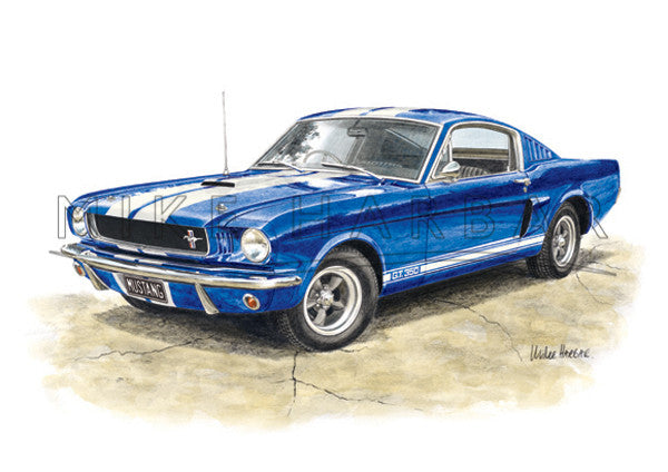 Ford Mustang 1964-66 Fast Back