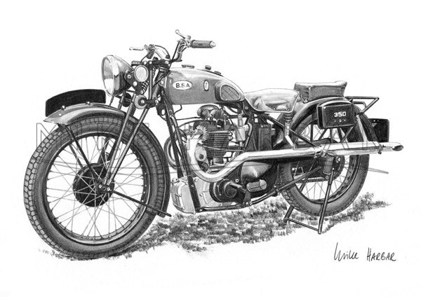 BSA 1933 Blue Star