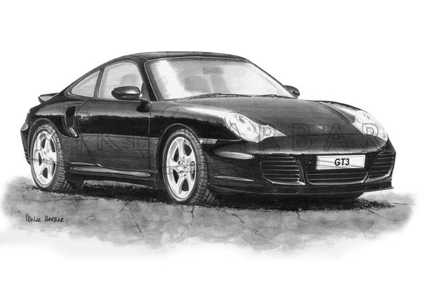 Porsche 996 Turbo (Front View)
