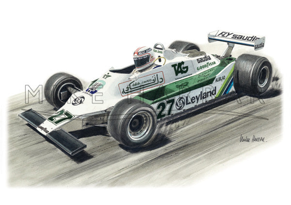 Williams FW07 Alan Jones