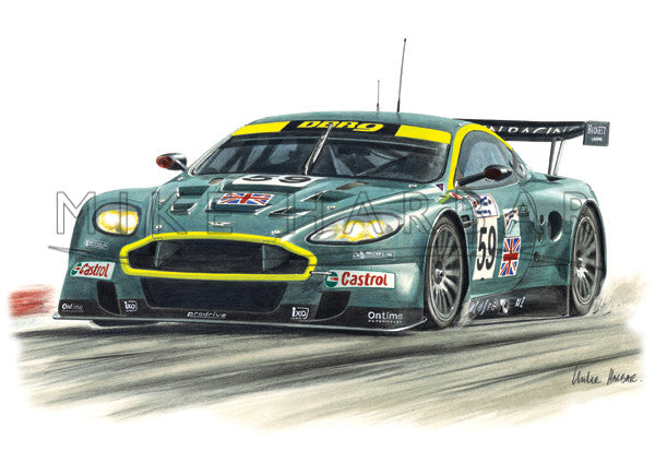 Aston Martin Race Cars