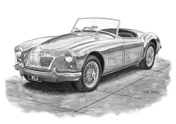 MGA Mk2 Roadster with Recessed Grille