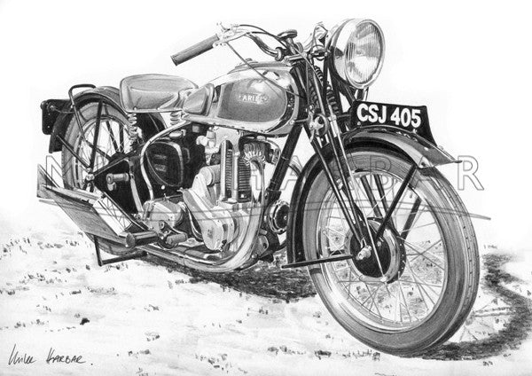 Ariel 1937 Red Hunter