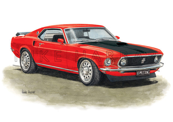 Ford Mustang 1969 Fast Back