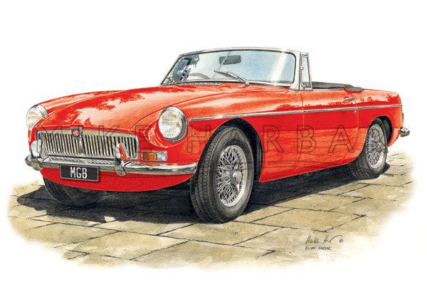 MGB Roadster Mk 1 Chrome Grille