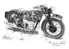 Royal Enfield 1937 KX Delux