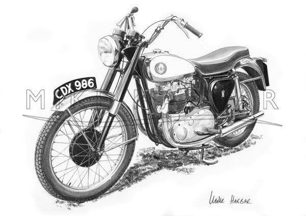 BSA 1954 Road Rocket