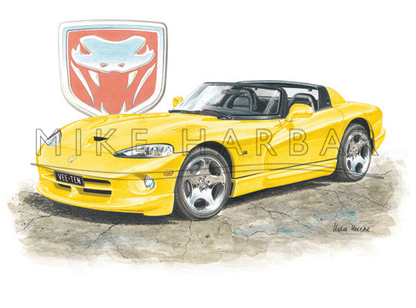 Chrysler Viper RT10 Roadster