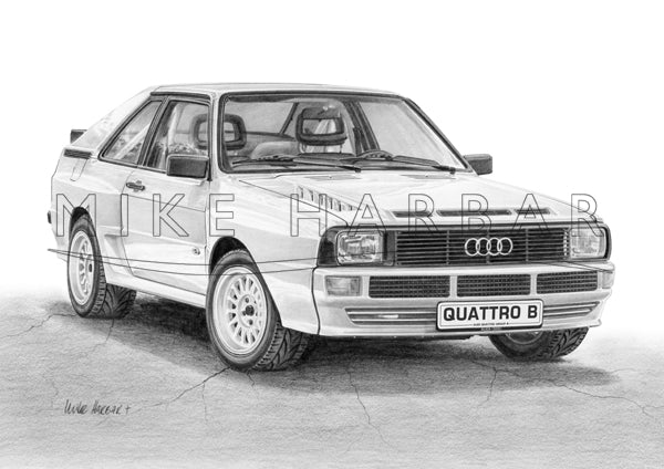 Audi TT Quattro Group B
