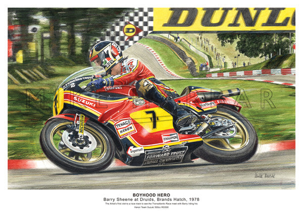 Susuki 1978 RG 500cc Barry Sheene - Boyhood Hero