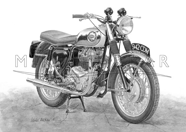 BSA Rocket Gold Star 650cc