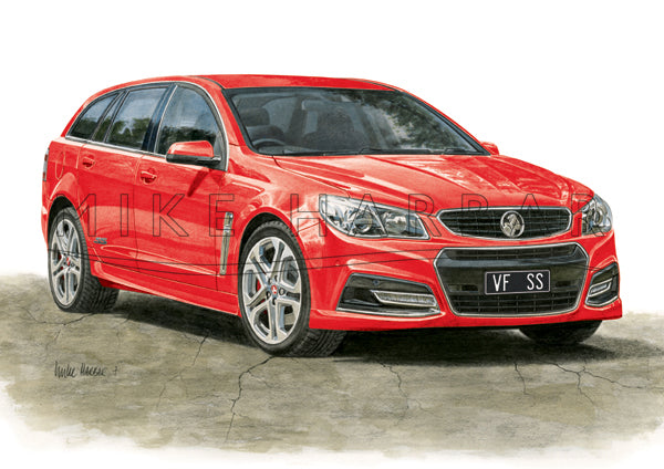 Holden Commodore VF I Sportswagon - Colour Print