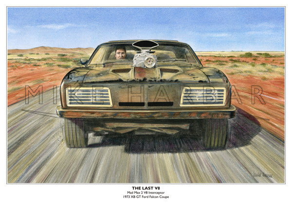 Ford Falcon XB Mad Max 2 - The Last V8