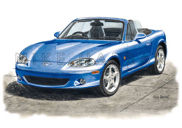 Mazda MX5 NB Series 3