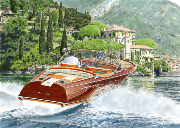 Riva Como - Riva Aquarama Super Orange