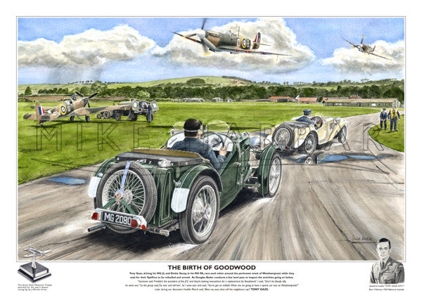 MG J Type - The Birth of Goodwood