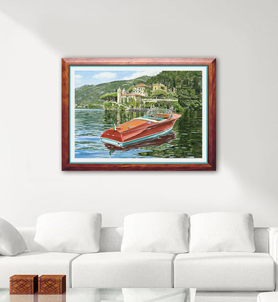 Riva Ariston - The Opera Canvas Print
