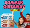 Summer Giveaway Winners