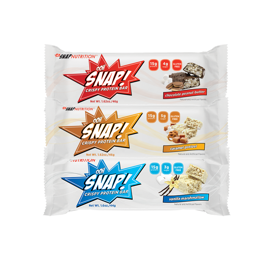 <b>Ooh Snap! Protein Bar Sampler</b> <br> 3 Pack