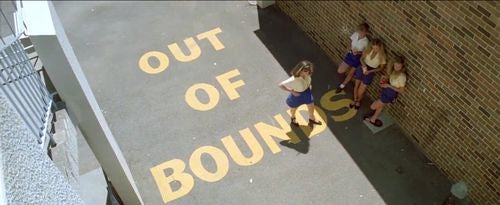 Out of bounds Australian school teen