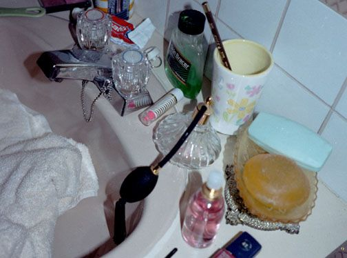 Teenage bathroom mess