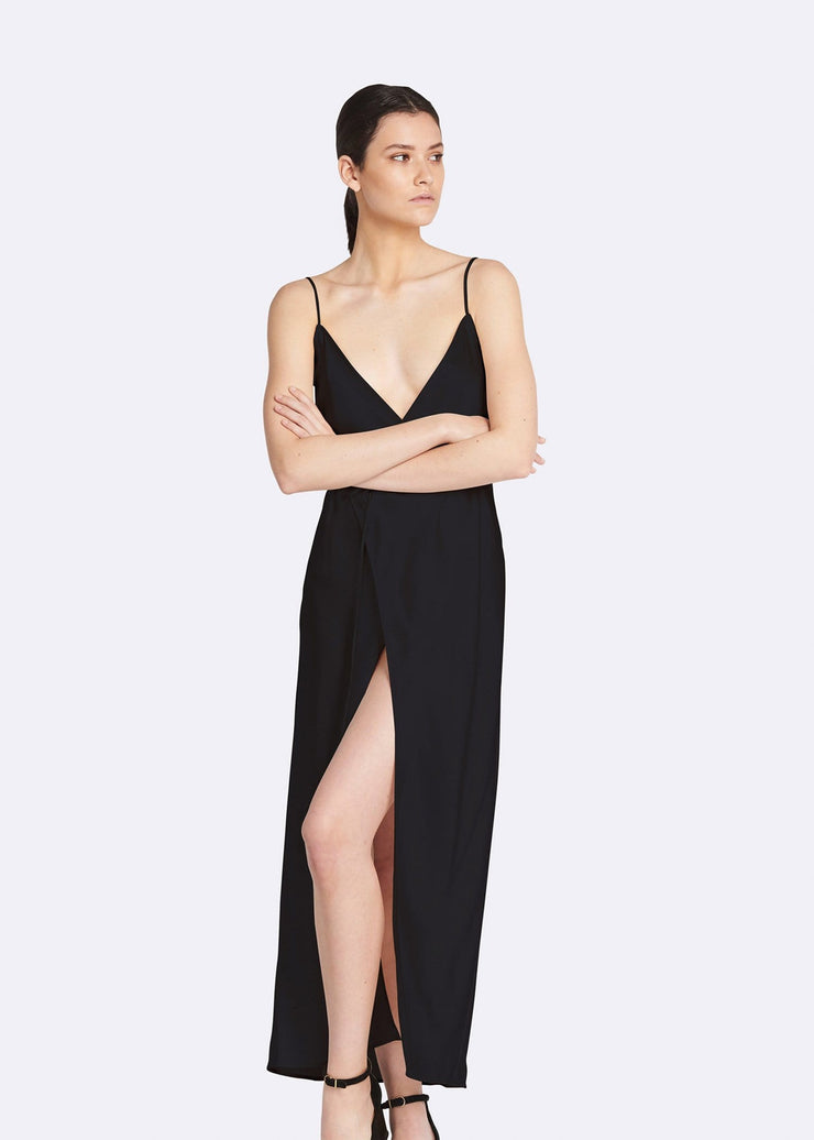 Bella Satin Slip Dress