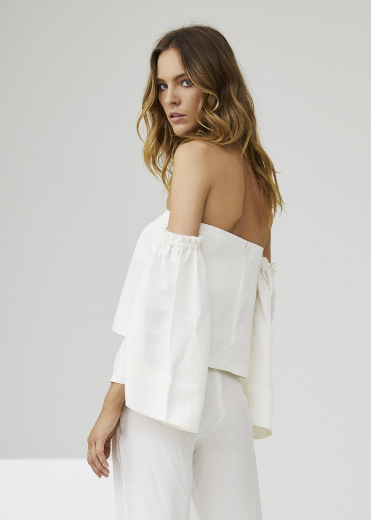 Emmanuel Bell Sleeve Top