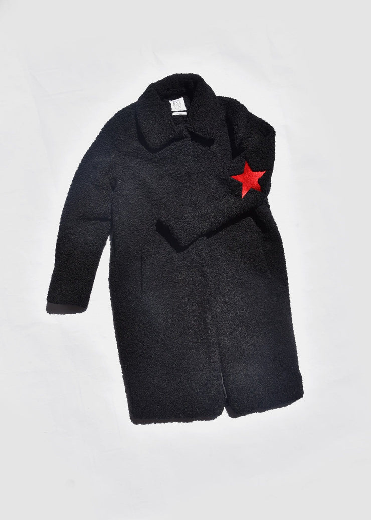 Kiss Kiss Bang Bang Teddy Coat