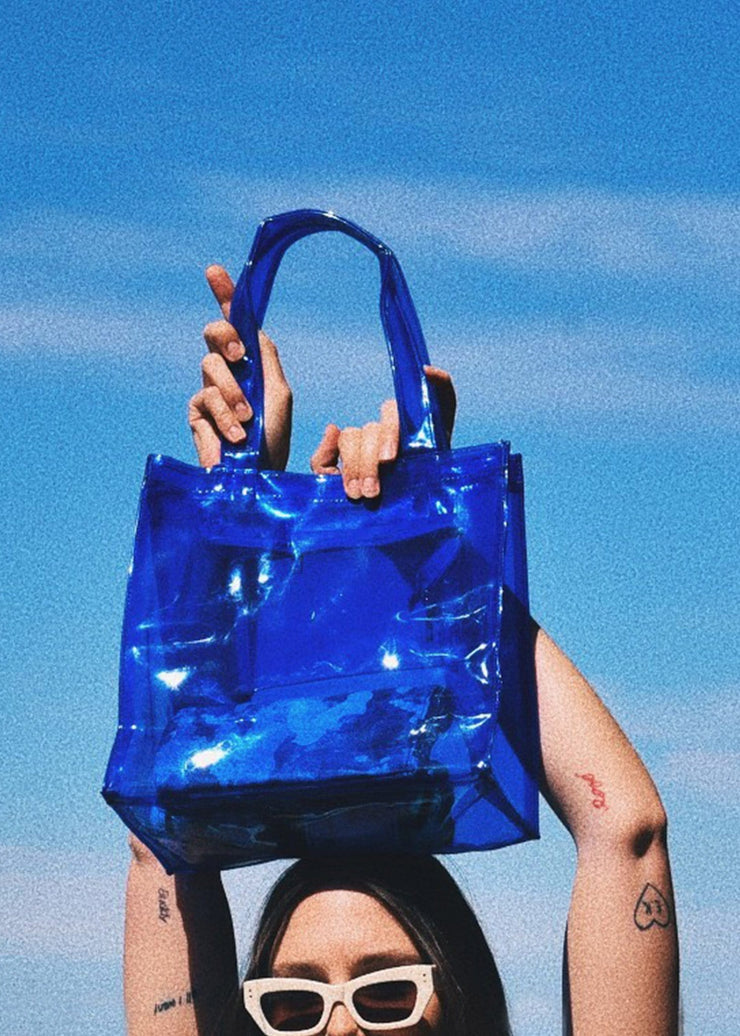 Nothing To Hide PVC Tote