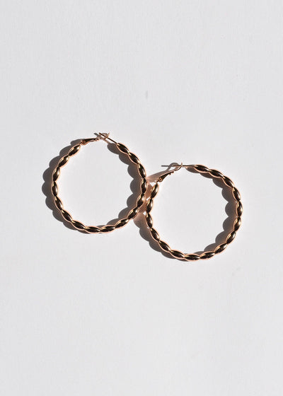 Queen Hoop Earrings
