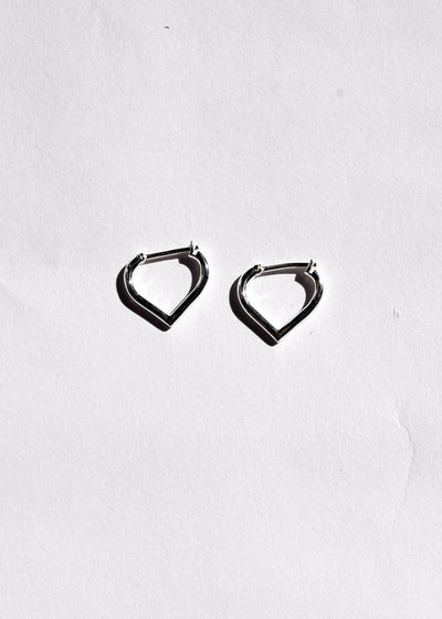 Small Love Hoop Earrings