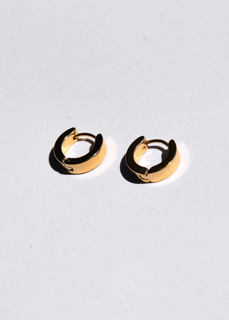Solid Drop Sleeper Earrings