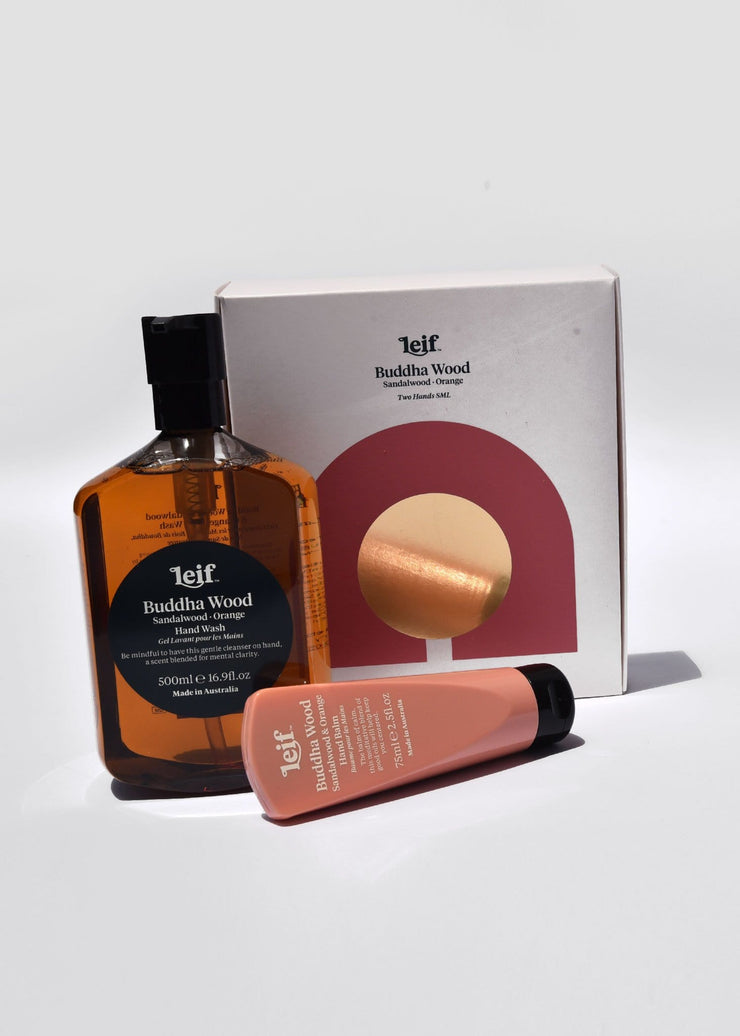 Buddha Wood Hand Wash & Balm Set