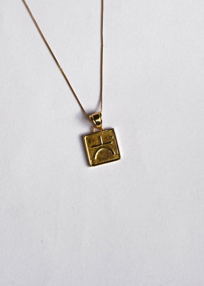 Wisdom Valores Pendant Necklace
