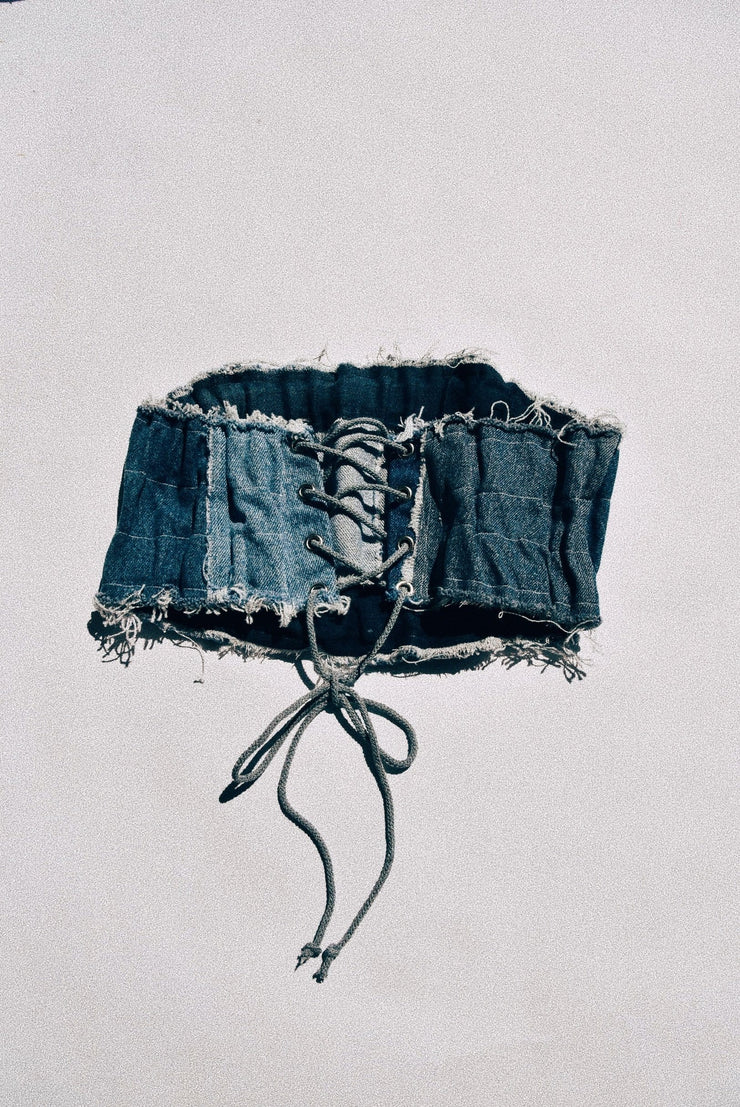 Denim Bandeau